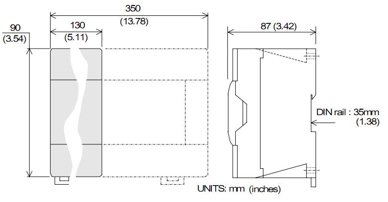 PLC Mitsubishi FX2N-128MR-ES/UL