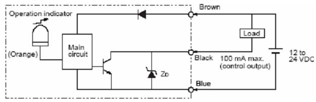 Cảm biến quang E3F3-T61